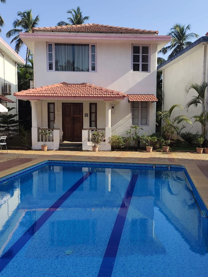 2BHK LUXURIOUS VILLA IN VAGATOR WITH POOL