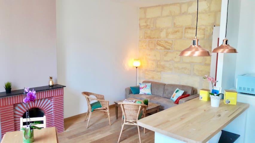 Echoppe 47 m2 renovated on pretty courtyard - Bordeaux - Apartament