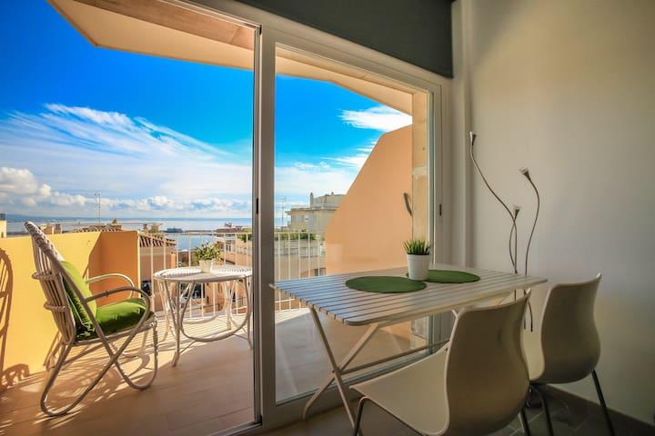 Modern studio- Palma nice seaviews - Palma - Apartment
