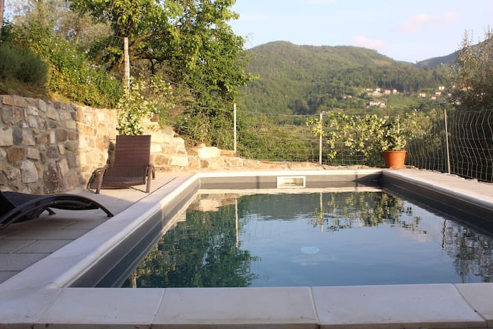 2016 -> Maison authentique 4p - piscine - Toscane - Turano - Hus