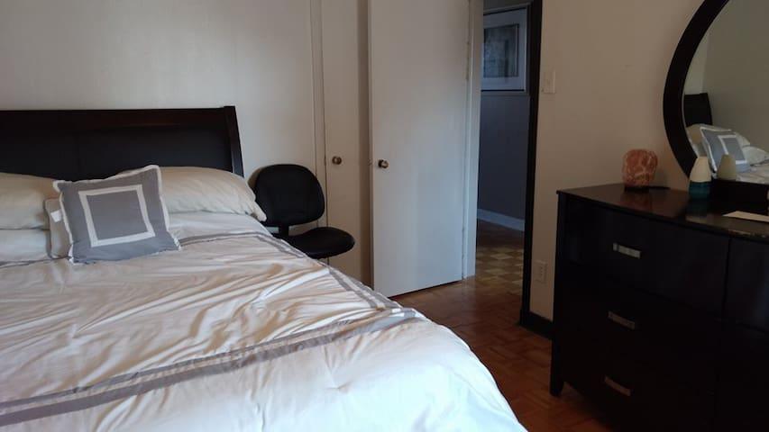 Nice bedroom in Shawinigan-Grand-Mère