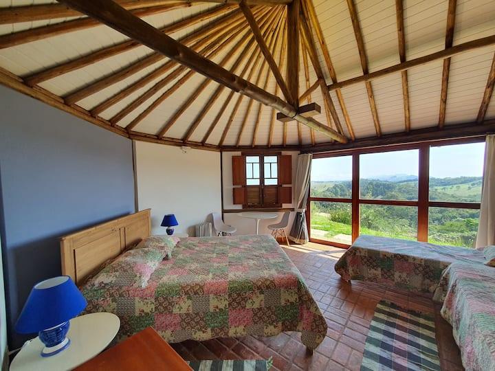 Suíte na montanha em Cunha