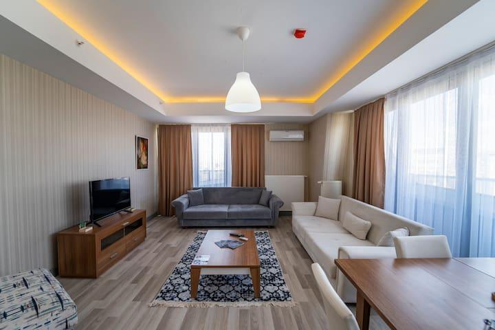 Fine modern residence ,7/24 security, 2 bedroom