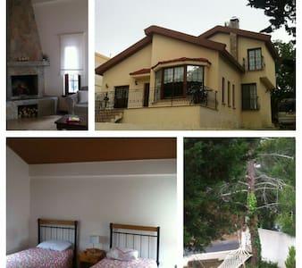 Dağ evinde sessiz huzurlu bir ortam - kantara cyprus