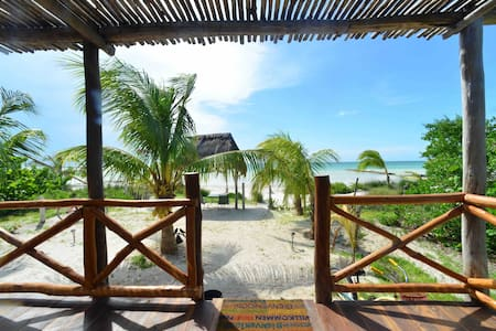 Cabo San Bruceski's Beach house Awaits You! - Holbox