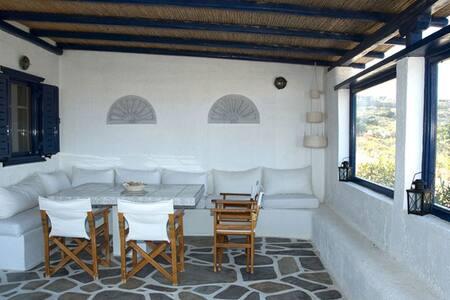 Villa Melina –COSTA ILIOS RESORT - Mikonos - Casa de campo