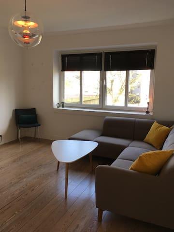 Stor lejlighed med have, nær centrum. - Sønderborg - Appartement