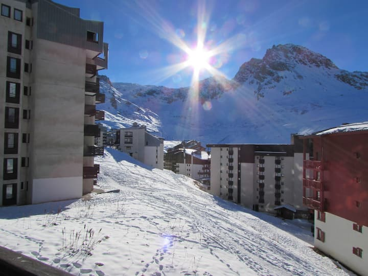 Ski apartment-Val Claret-Tignes-Alps-sleeps 5