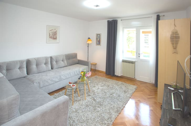 BRIGHT APARTMENT WITH BALCONY CLOSE TO CENTRE