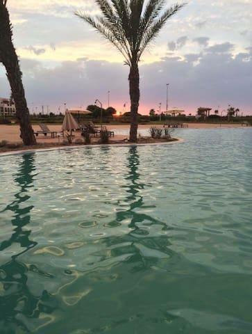 Résid touristik Méditerranée unique - Saïdia - Apartament