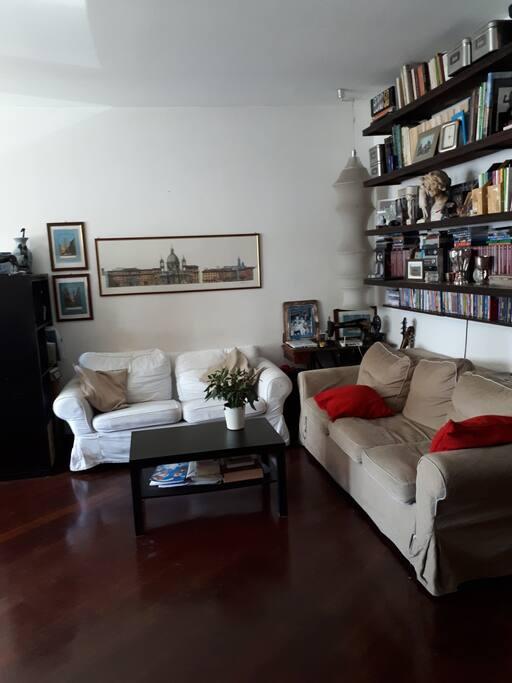 Living room (40 m^2)