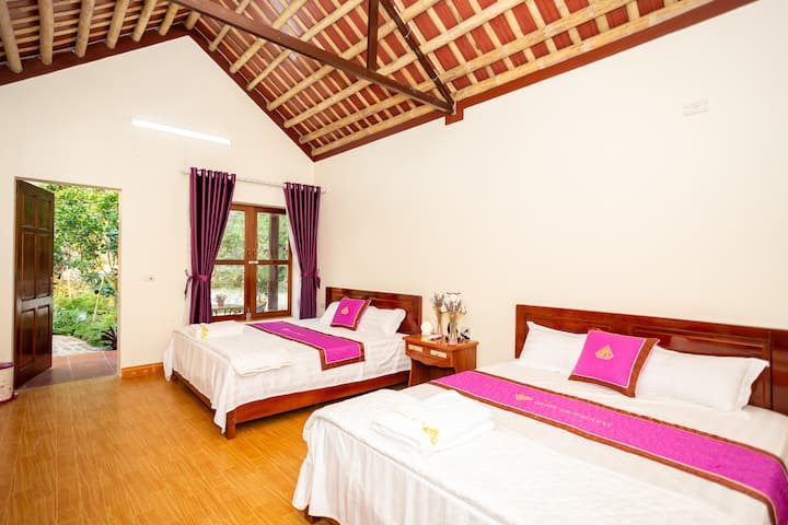bungalow family room - ruby homestay