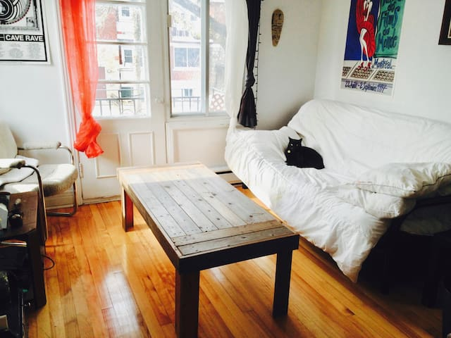 Comfortable futon for low budget ! - Montréal - Appartement