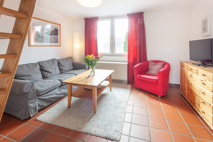 Gemütliche Ferienwohnung für 4 Personen mit Balkon