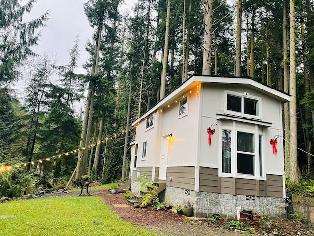 Eagles Nest Tiny House - In forest with views