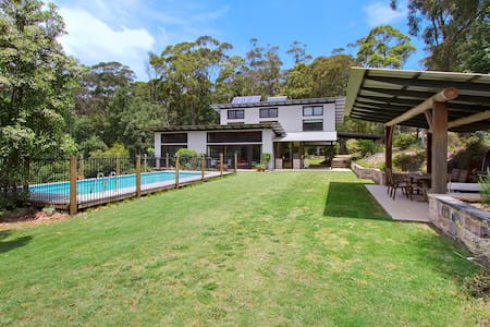 TABARAGA RIDGE ECO HOUSE SUSTAINABLE HOLIDAY - Kurrajong Heights - Talo