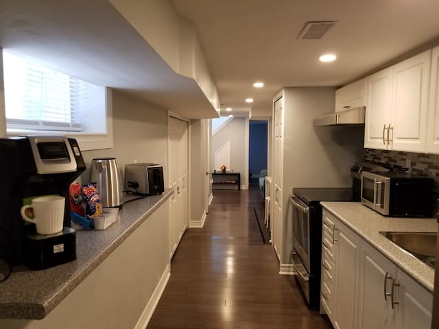 Brand New 2 Bedroom Basement Apt. Midtown Toronto