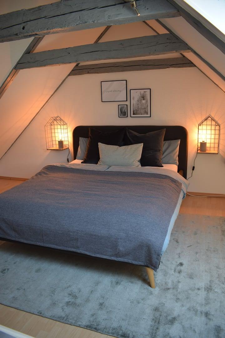 Süße Maisonette-Wohnung auf Bauernhof bei Grömitz