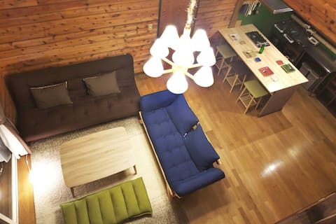 Rumah Santai dengan Onsen Nyata !/ untuk Grup/6ppl