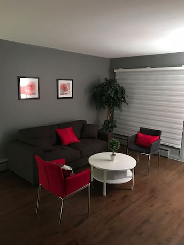 Cosy apartment ( 3 rooms, 2 beds and 1 sofa bed)