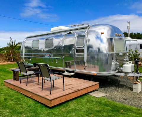 The Dunes - stay in a vintage trailer on the Coast