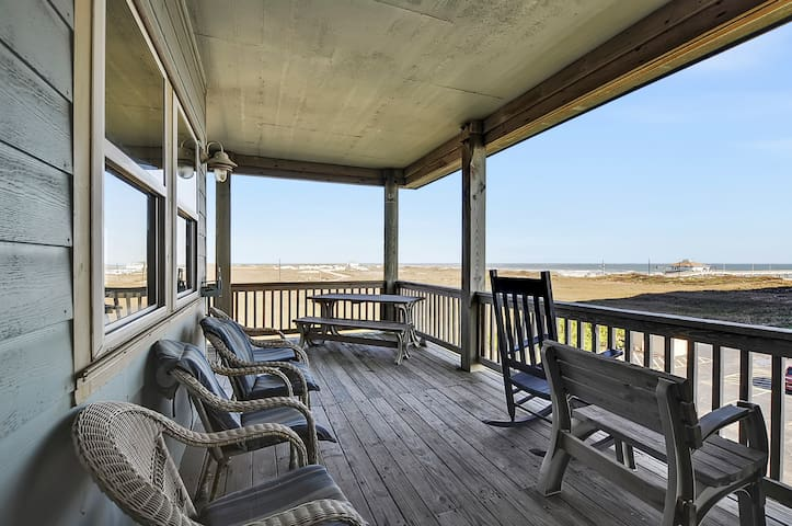 Gulf-View Duplex Steps to the Beach - Port Aransas - Wohnung