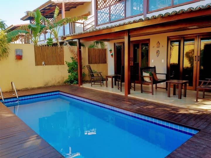 Pipa Beleza Villa Triplex Luxo - com piscina