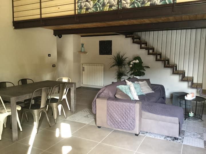 Maison décoré par architecte 30 min de Naples !!