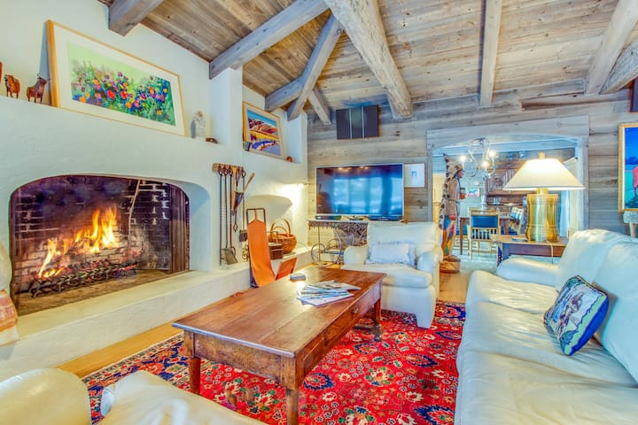 Grand mountain home w/ private hot tub, game room & nearby ski access!