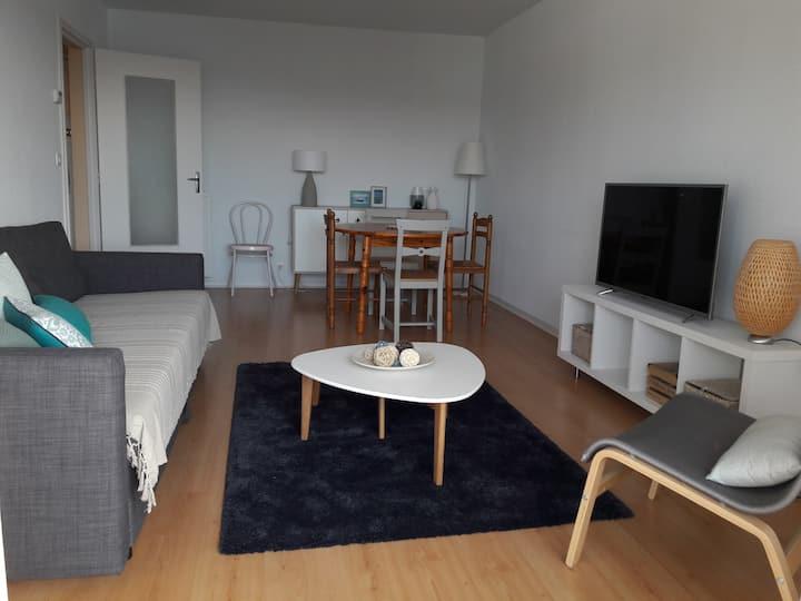 Appartement cosy type T2, 52m2, quartier calme