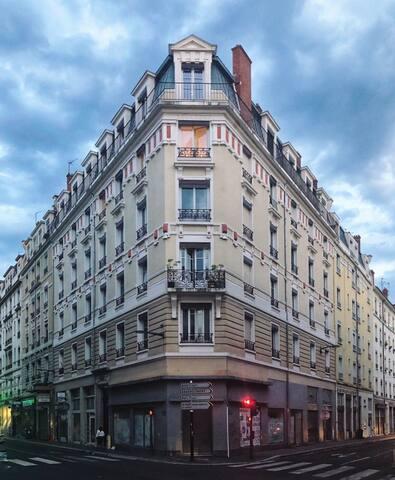 Appartement cosy Cours Tolstoi à Villeurbanne
