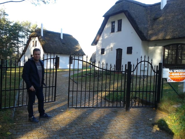 Reetdachhaus am See