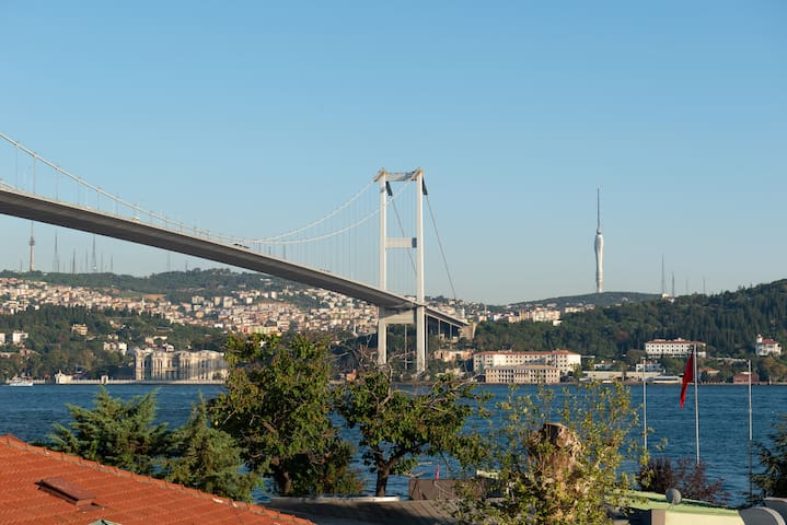 Magnificent 2 Bedroom Flat with Bosphorus View