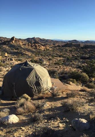 Geodesic Dome @ The Yogi Goats Farm & Retreat
