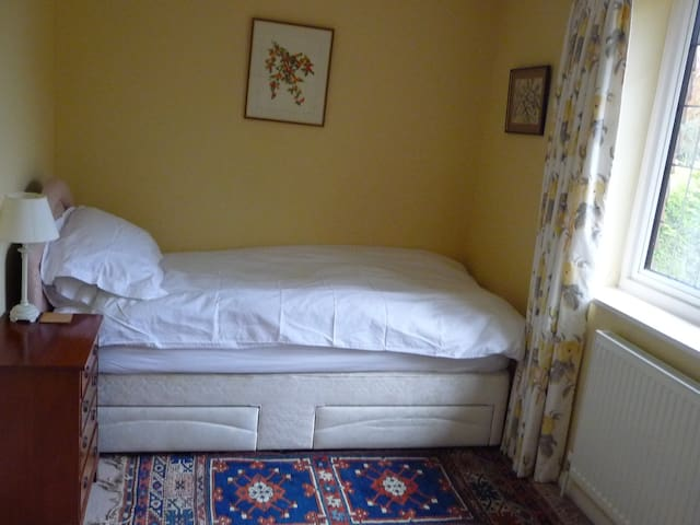 Comfortable Single bedroom with large ensuite - West Horsley