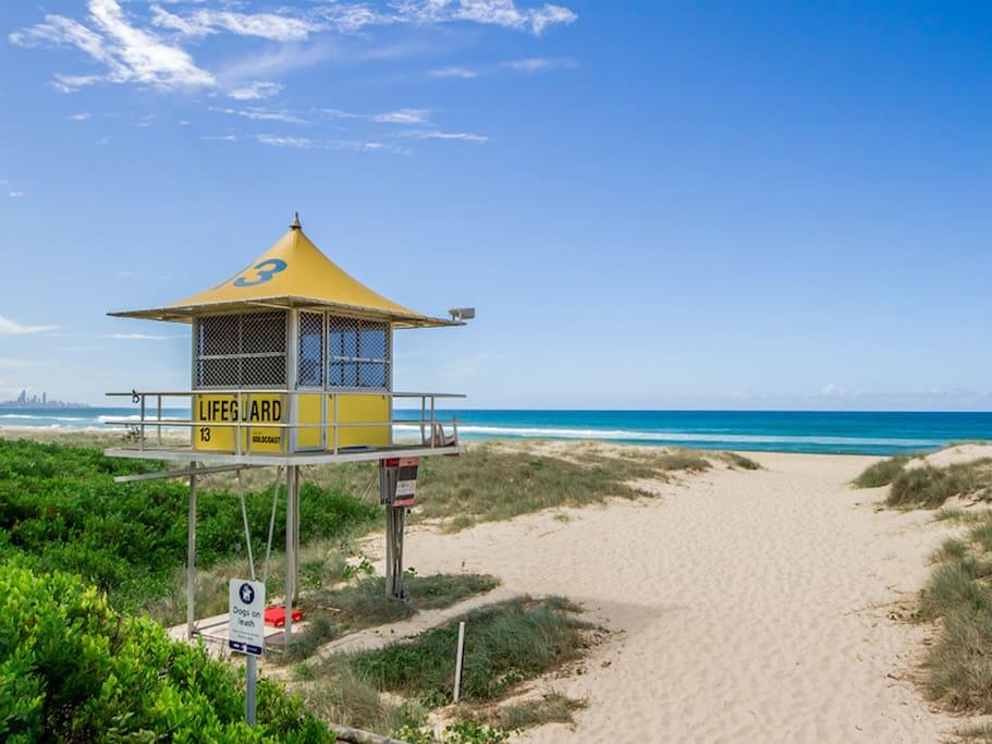 Local patrolled beaches