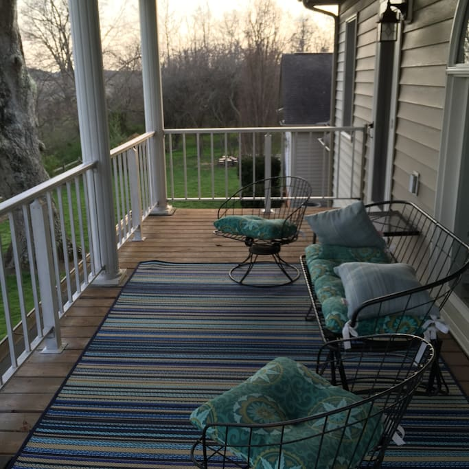 See Mountain  views from deck