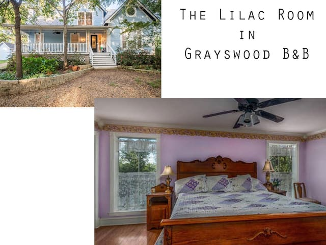 Lilac Room in Grayswood B & B