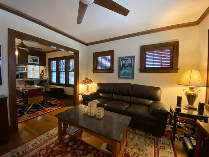 Cozy and Private DNC rental (7 min from downtown)