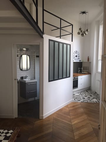 Studio Loft 21M2 au cœur de Boulogne-Billancourt - Lofts for Rent ...