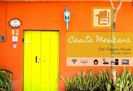 Casa Rustica Mexicana, Aire, Wifi, trae máscota