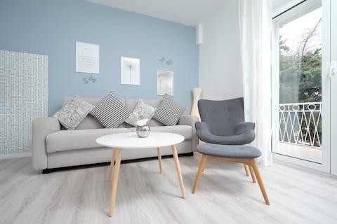 Hvar, apartament w centrum: Niebieski!