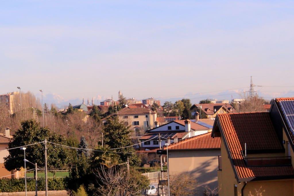vista terrazzo monastero di S.Giustina