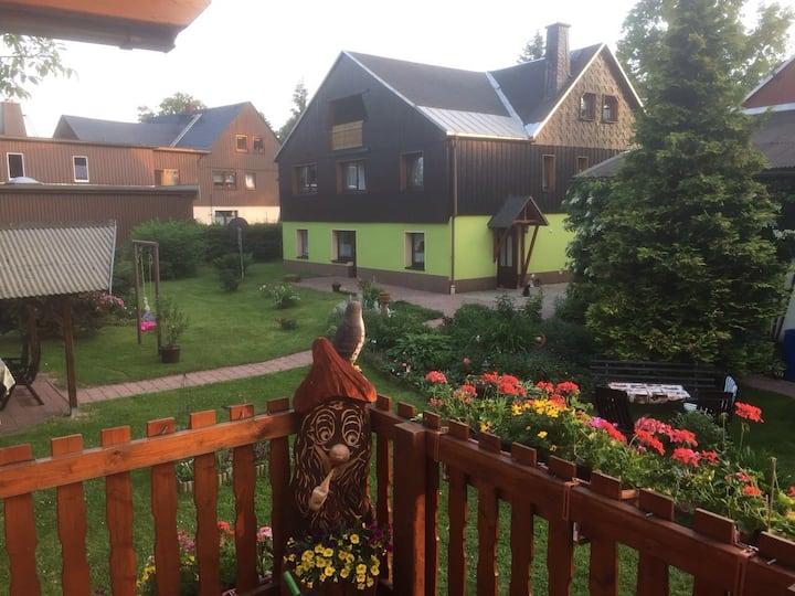 Ferienwohnung m. Almhütte im schönen Osterzgebirge