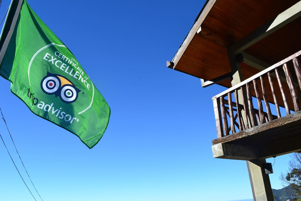 Trip adviser certificate of excellence flying high