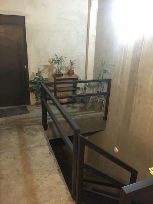 Main entrance (hall)  First floor