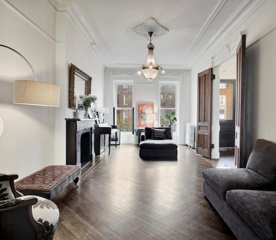 Private Brooklyn Historic Brownstone Duplex