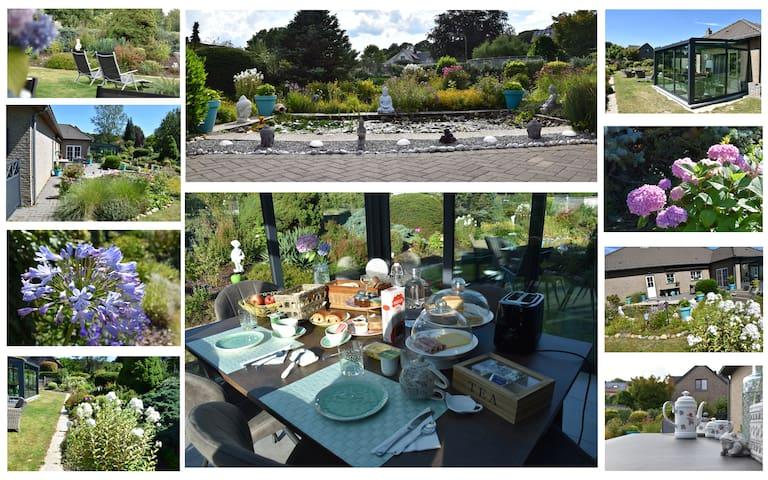 Villa Orchidées, 10 min Maastricht déjeuner inclus