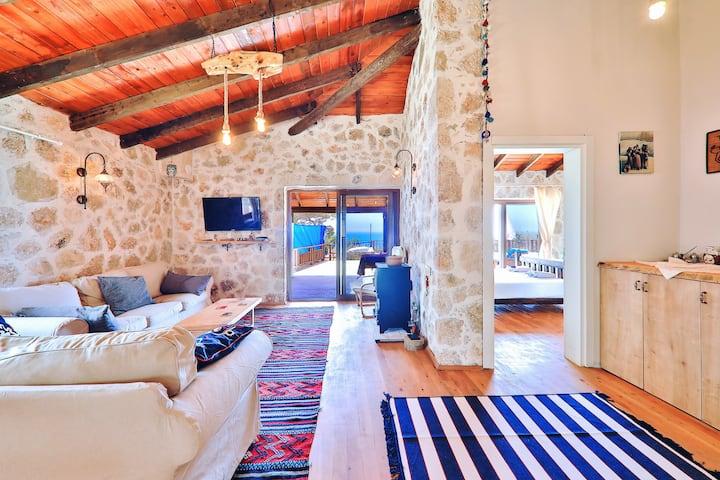 Likya House | Deniz ve Doğa Manzaralı, Havuzlu