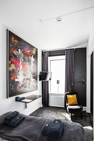 Modern room in the heart of Stockholm